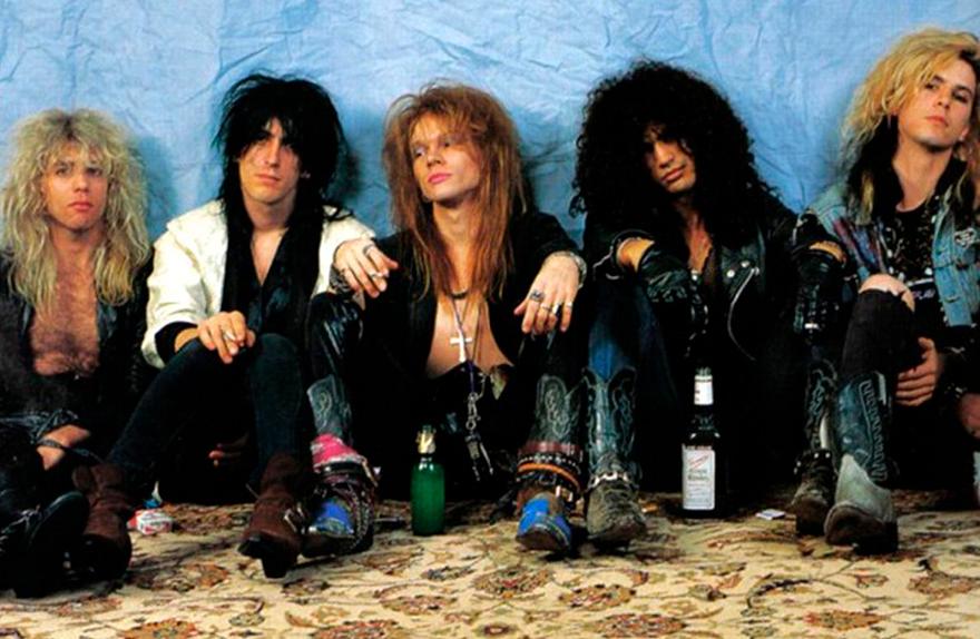 Guns N' Roses - Curiosidades - Izzy y Steven